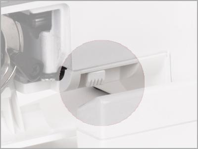 Corte lateral integrado na máquina 1006
