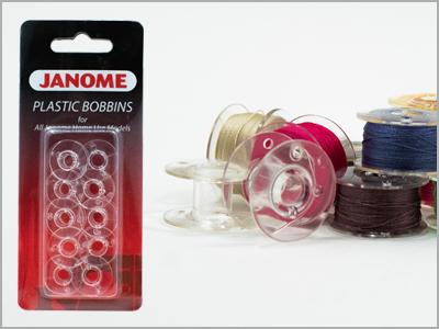 Conjunto com 10 bobinas transparentes vazias - 200122005