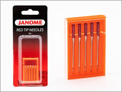 Conjunto de agulhas de ponta vermelha 990314109