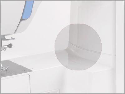 Corpo da máquina em metal resistente