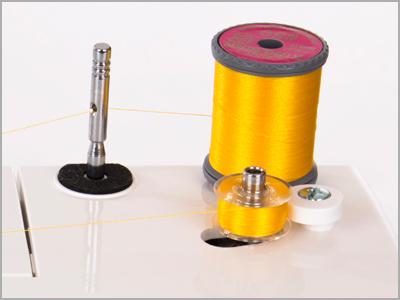 Braço livre para costuras tubulares na máquina 1006
