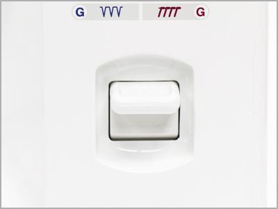 Chapa da agulha com marcações especiais na máquina 1006