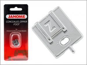 Calcador para aplicação de zíper invisível 200333001