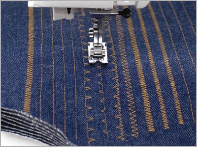 Máquina 1006 costura até 8 camadas de jeans