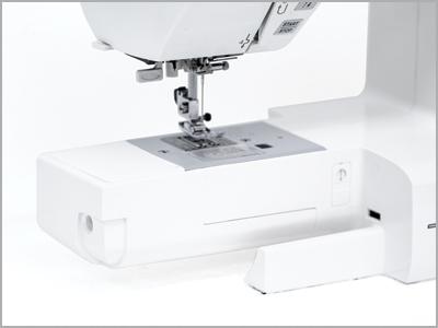 Braço livre para costura tubular na máquina 2030QDC