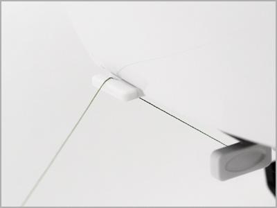 Corte de linha lateral na máquina 2030QDC
