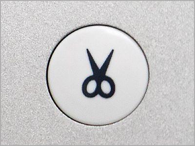 Botão de corte de linha automático e programável da máquina MC6700P