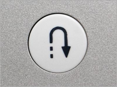 Botão para retrocesso automático