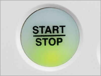 Botão Start/Stop da máquina MB-7