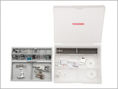 Caixa de acessórios da máquina de costura MC6700P