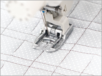 Calcador AD para quilting reto 859819019