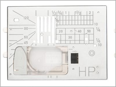 Chapa da agulha profissional HP