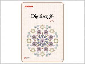 Software básico de criação de bordados Digitizer JR V5