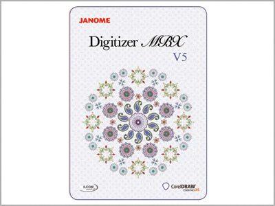 Software de criação de bordados Digitizer MBX V5
