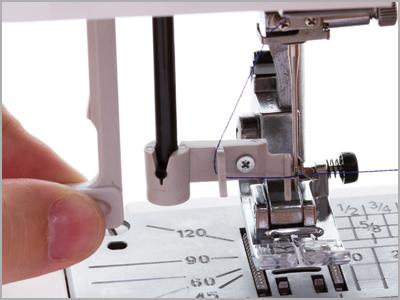 Passador de linha da máquina de costura Janome DC6100