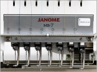 Placa antiestática na máquina MB-7
