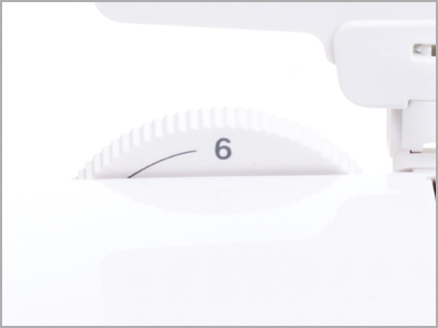 Seletor de Pressão do Calcador da máquina de costura Janome DC6100