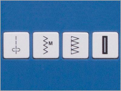 Teclas de atalho para seleção direta de ponto DC 6100