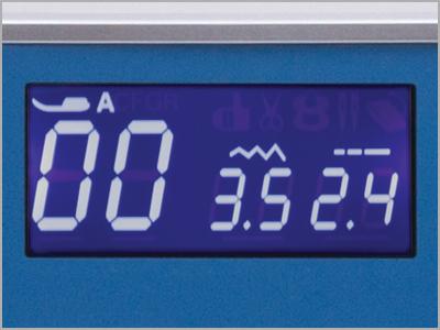 Visor de LCD da máquina de costura DC6100