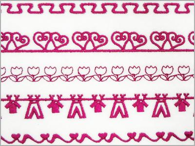 102 desenhos de costura decorativa MC500E
