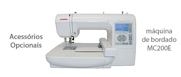 Acessórios para máquina de bordado MC200E