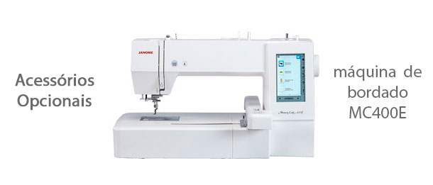 Acessórios para máquina de bordado MC400E