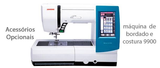 Acessórios para máquina de bordado e costura 9900