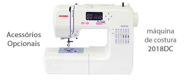 Acessórios para máquina de costura 2018DC