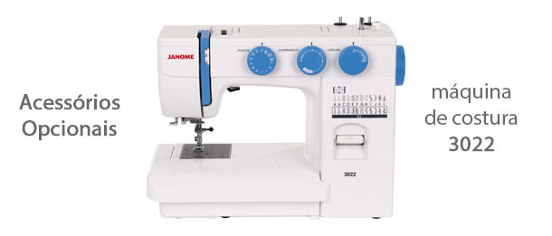 Acessórios para máquina de costura 3022