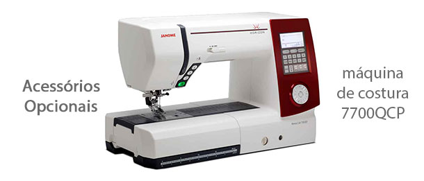 Acessórios para máquina de costura 7700QCP