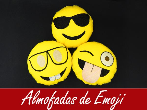 Almofada de Emojis!