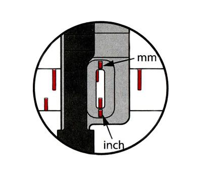 Calcador com guia deslizante para bordas – 202293004-4