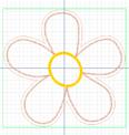 Crie e Borde com a Janome – Série Decorações – Flores M, G e GG!-12