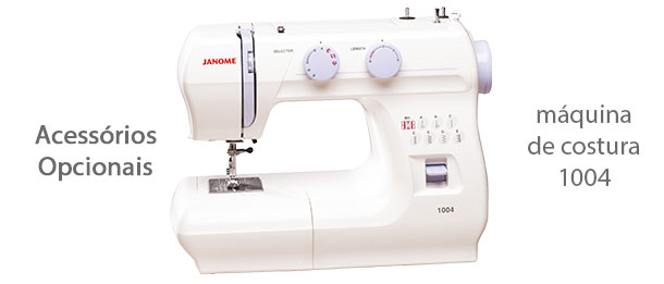Acessórios para máquina de costura 1004