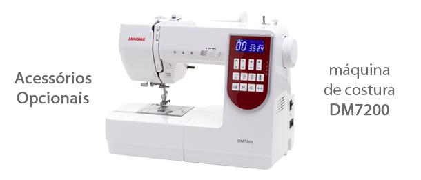 Acessórios para máquina de costura DM7200