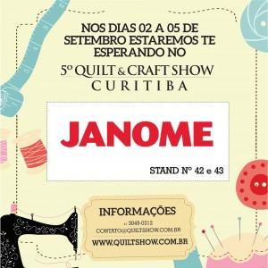 5º Quilt & Craft Show em Curitiba – Programe-se!