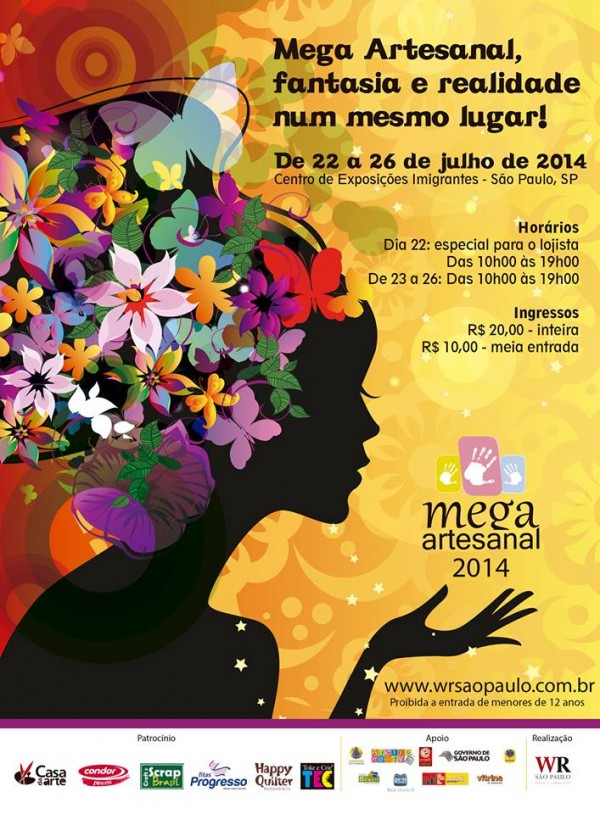 Está chegando a Mega Artesanal 2014… prepare-se! 2