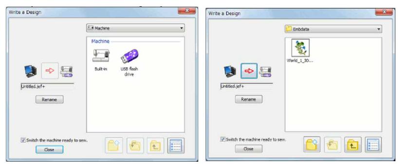 Como transferir por cabo USB um bordado para a sua máquina de bordar Janome MC500E