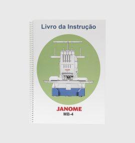 Manual de instruções para máquina MB-4 770805643