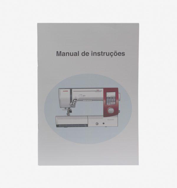 manual de instrução máquina 7700QCP-858800241