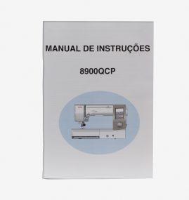 Manual de instruções para máquina 8900QCP 858800595
