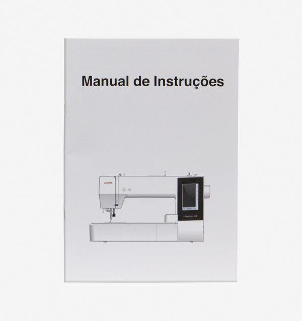 Manual de instruções para máquina MC500E 864800055