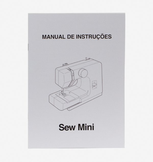 Manual de instruções para máquina 525 SEW MINI 525800217