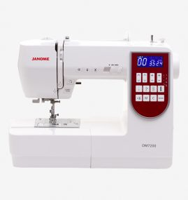 Máquina de costura com 200 pontos