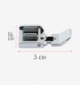 Calcador para aplicação de zíper comum 940290000