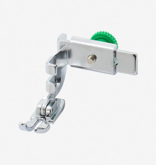 Calcador para aplicação de zíper comum e cordão largo 200342003