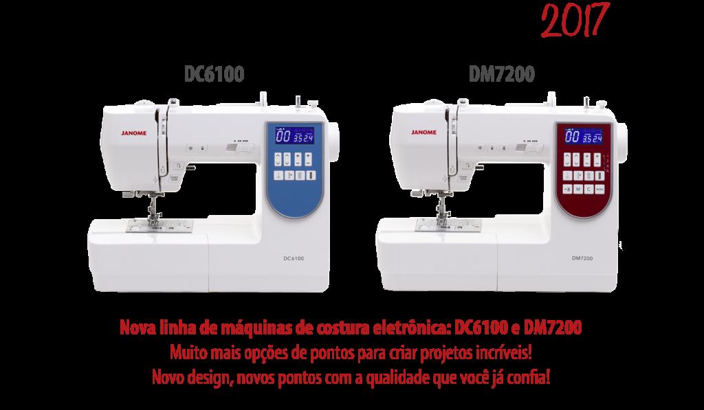 2017 - Lançamento das máquinas DC6100 e DM7200