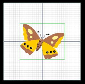 imagem bordado tela de edição