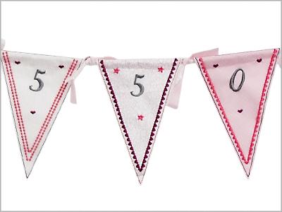 Bandeirolas Comemorativas MC550E