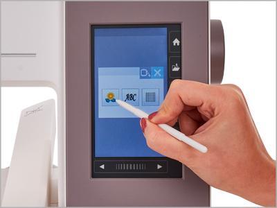 Tela LCD de toque MC550E